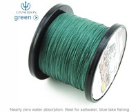 No.1 Quality&Service 4 Strand Green Color 500M Japan Multifilament Super Strong 100% PE Braid Fishing Line 40LB