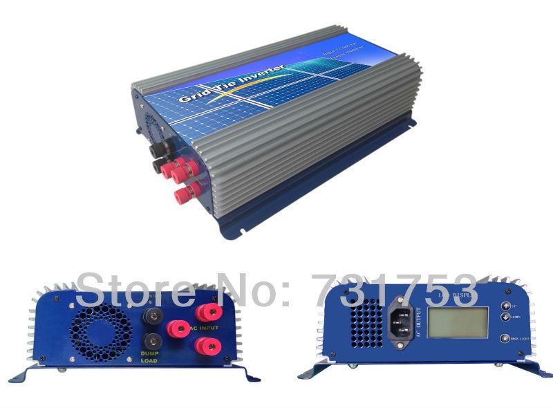 1500W Wind Grid Tie Inverter For 48V (AC Wind Turbine) ,LCD dispaly ,90-260VAC , 50Hz/60Hz(China (Mainland))