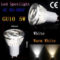 4pcs/Lot E27 base 7W LED COB Spot Light Bulb Globe E27 Cool White/Warm White AC85-265V Spotlight Lighting Epistar