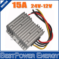 10pcs/lot Non-Isolated Step Down DC DC Power Converter 24V to 12V 180W 15A Voltage Regulators Converters