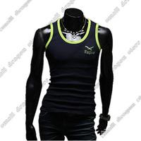 2014 New brand print the eagles tank top Man's Vest Sports t shirt Cotton gym Undershirt Men vest L-XXL Free Shipping