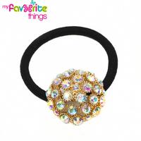 Designer Fashion Elastic Semi-round Hair tie Ponytail Holder Handband Jewelry Accessories For Women Girls Hairband Free Shipping