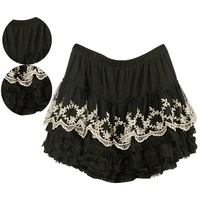 Women Girls Lovely 4-layers Cake Pleated Ballet Mini Short Skirt