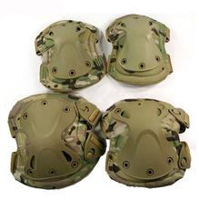 4pcs/set!!! Paintball táctico protección transformadores rodilleras coderas& envío gratis, envío de la gota!!!(China (Mainland))