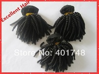 afro kinky human hair extension