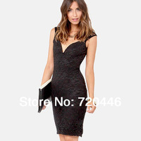 Free Shipping 2014 Summer New Arrvial Ladies' Sexy Plus Size Club Dresses Fat Women's Fashion Apparel Girls' Clubwear For Party