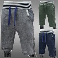 NEW Mens Casual Pants Korea Fashion Sport Trousers Sevenths Pants 3 Colors 4 Sizes S108