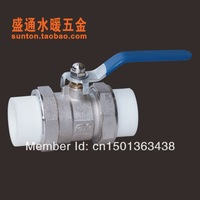 DN20, PPR ball valve hand ball valve Double Union Ball External Ball