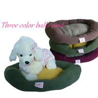 Free Shipping Wholesale 1PCS New 2014 Pet Bed Multicolors Polor Fleece Pet Dog Nest Cat Nest