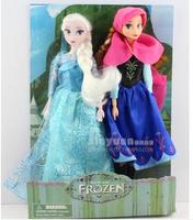 Wholesale - 2PCS doll / doll / princess / hand to do / elsa toys / FROZEN / princess dolls, toys