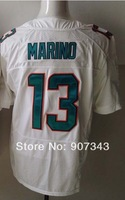 #13 Dan Marino Jersey,Elite Sport Jersey Cheap American Football Jersey Stitched Logo Embroidery Authentic Jersey