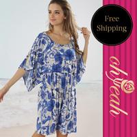 New Beach Dress 2014 With Ohyeah Brand Summer Beach  Dresses For Girls