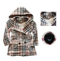 2014 Fashion brand designer children trench spring autumn winter girls outwear coat hot sale kids high quality suit