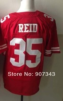 #35 Eric Reid Jersey,Elite Sport Jersey Cheap American Football Jersey Stitched Logo Embroidery Authentic Jersey