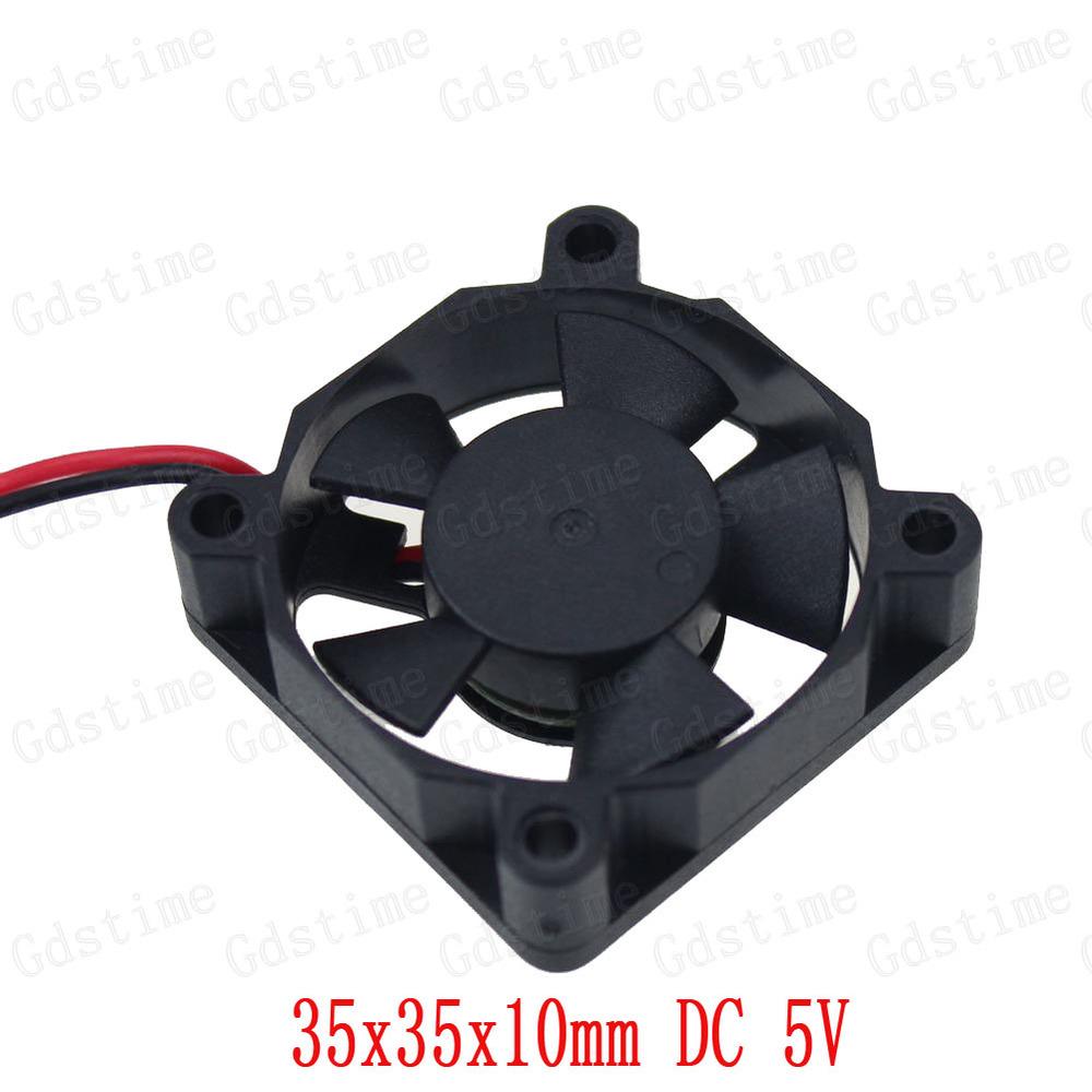 2 stück viel GDT 3.5cm 35mm 35x10mm xp2.0- 2p 5v dc micro industrielle lüfter