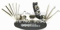 Mountain Bicycle tools sets Bike Multi Repair Tool Kit Hex Spoke Wrench Mountain Screwdriver Free Shipping
