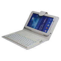 Wireless Bluetooth Keyboard Case Cover For Samsung Galaxy Tab 3 Lite T110 T111 7.0 Inch Tablet PC
