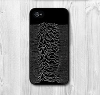 Free Shipping Joy Division Hard Cover Case For iPhone 4 4s 4g, Black And White Case For Your Choice