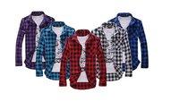 Free shipping,2014 new long sleeve plaid shirts for men Plaid shirt fashion slim style ,STS11