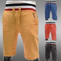NEW Mens Casual Pants Korea Fashion Sport Trousers Sevenths Pants 4 Colors 4 Sizes S112