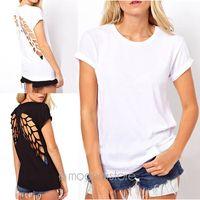 2014 Women's New Fashion Summer T-Shirt O-Neck Lazer Cut Angel Wings Short Sleeve Casual Tops E1426 2X