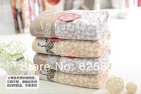 Free Shopping 100% cotton towel untwisted double Leopard   78*34CM 2pcs/lot