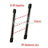 PH-R0630-L 315/433mhz wired Weatherproof outdoor ir beams6 beams IR distance 30m IR fence infrared sensor Barrier detector