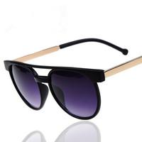 Free Shipping Wholesale Women Men Vintage Retro Sunglasses Round Circle Lens Steampunk Sunglasses Factory Price  #MM51