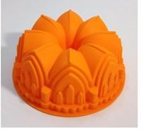 "8"" Big Crown Shape Food Silicone Cake Mold Birthday Cake Bakeware Cake Decorating Silicone Tools"