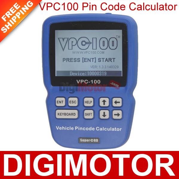 VPC100 Pin Code Calculator VPC-100 Super OBD World's No.1 Locksmith(China (Mainland))