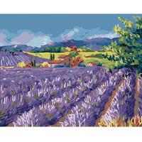 Digital oil painting 40 50 digital painting diy digital oil painting lavender hand painting