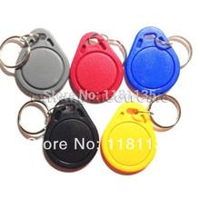 Envío libre 10pcs / lot llavero TAG RFID 13,56 MHz IC Clave Etiquetas Keyfobs Token NFC para Arduino(China (Mainland))