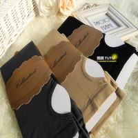 Advanced high quality velvet step abdomen drawing butt-lifting socks step basic fine stripe socks