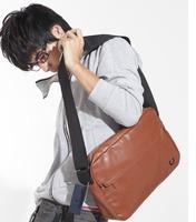2014 autumn man bag high quality vintage shoulder messenger casual street male small men's trend single shoulder handbag