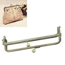 Free Shipping 3PCs Metal Purse Bag Frame Kiss Clasp Lock Bronze Tone 15.5cmx7cm B31734 (China (Mainland))