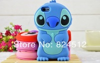 Lilo Stitch Cartoon Pink Sale Prevent Scratches soft Cover Back Case for iphone4/4s 5/5s