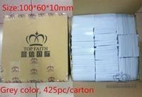 TOP FAITH ! Magic Sponge Eraser Melamine Cleaner,100 x 60 x 10mm Grey, car kitchen cleaning sponge, box pack, 425pcs/box