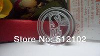 Creative Fans Souvenirs Collectibles Champions League Clubs FC Schalke 04 Team Logo Crystal Wax Seal
