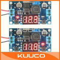 LM2596 Module Voltmeter Adjustable DC DC Step-Down Buck Converter 24V to 12V to 5V 2A Voltage Regulator Power Supply LED Display