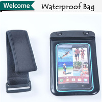 Waterproof PVC Bag Case Underwater Pouch For Samsung galaxy 9300 7100 For iphone 4 4S 5 5S 5C free shipping