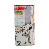 Snoopy SNOOPY wallet 2014 cartoon design women's long wallet  Free shipping
