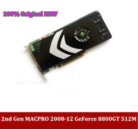 Brand NEW for mac 2nd Gen (2008-2012)  Mac Pro nVidia GeForce 8800GT 512MB PCIe Video Card  with  2 year warranty