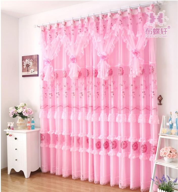 Roze vitrage koop goedkope roze vitrage loten van chinese roze vitrage leveranciers op - Kamer gordijnen kind ...
