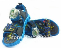2014  Package mail Children's  sandals  3455 Boys sandals  Sports shoes  Light and soft bottom  Breathable mesh fabric