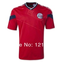 Free Shipping 2014 World Cup New Colombia  Away soccer jersey Top Thailand Quality football shirt Uniform