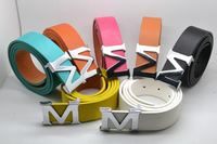 New M  buckle belt fashionable man han edition decorative belt Ms casual pants belt