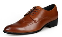 Wholesale Promotion 2014 new men's leisure genuine leather England business shoes,special offer.free shipping,NT045