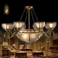 Fashion pendant light living room lights copper lamp living room pendant light american style pendant light rustic lamp