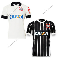 Corinthians home and away soccer jersey 2013 2014 grade original A+++ top thai quality corinthians jerseys 13 14 free shipping