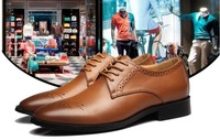 Wholesale Promotion 2014 new men's noble bloch  leisure genuine leather England business shoes,special offer.free shipping,NT051